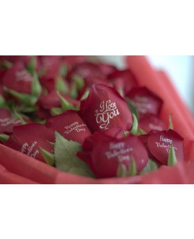 Bunch of Printed Roses (SR 33 each)